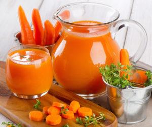 Очищение крови морковным соком